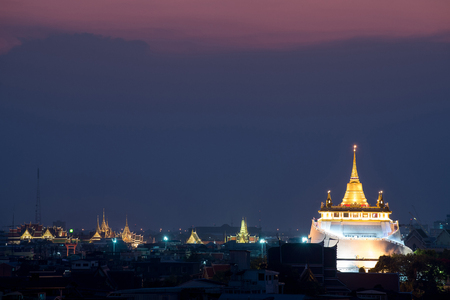 The Golden Mount - Wat Saket : great view over Bangkok, there are number of status of Buddhas and temple bells on the way up and down. Distinctive temple to visit.