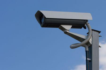 Outdoor video camera Stock Photo - 3494353