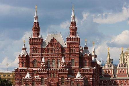 Museum of Russian History in Moscow, Red Square.