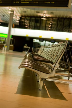 空港。 写真素材