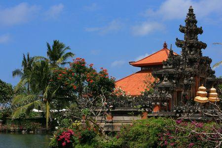 バリの寺院 写真素材
