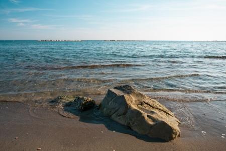 Beautiful seascape - Limassol, Cyprus photo