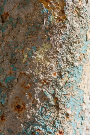 corroded: Corroded pipeline background Stock Photo