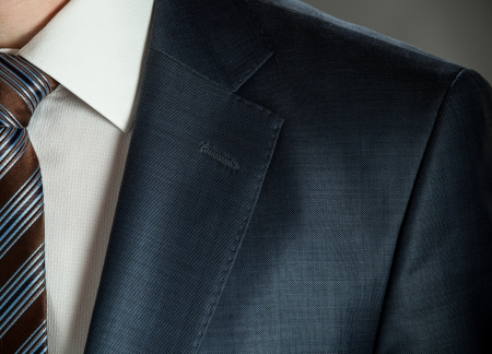 Businessman wearing formal suit and tie Standard-Bild