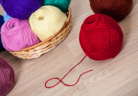 acrylic yarn: Wool
