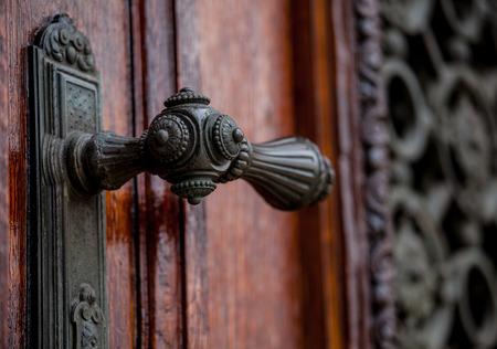 doorhandle: Doorhandle on doors of Kunsthistorisches Museum, Vienna