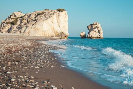tou: Petra tou Romiou (The rock of the Greek), Aphrodites legendary birthplace in Paphos, Cyprus