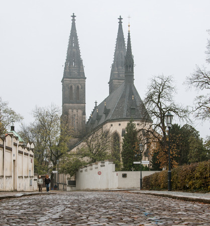 praha: Old town Praha (Praque) - autumn labdscape Stock Photo
