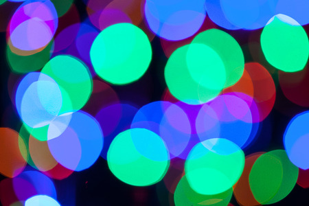 agleam: Beautiful Christmas background - closeup shot Stock Photo