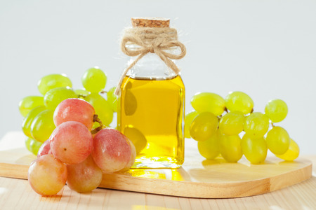 Natural grapeseed oil for massage, skincare and haicare