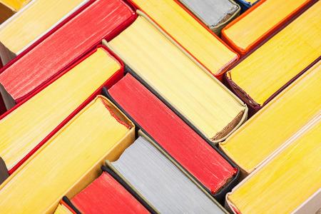classics: Books background - closeup shot