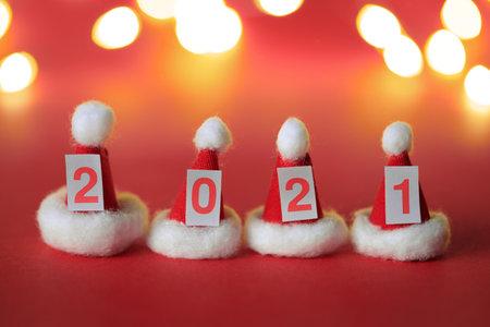 New Year 2021 still life Foto de archivo