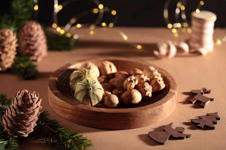 Christmas time: moody still-life