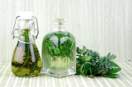 Natural herbal tinctures medicine