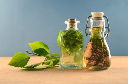 medicina: Tinturas de hierbas La medicina natural