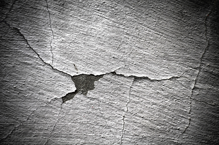 cracked wall: old cracked wall
