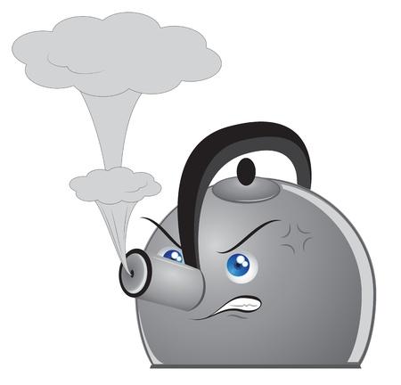 Angry Teapot
