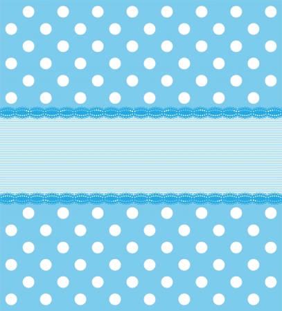 blue backgrounds: Blue Polkadot Background Illustration