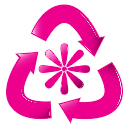 재활용 꽃