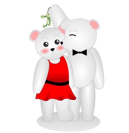 Mistletoe Polar Bears photo