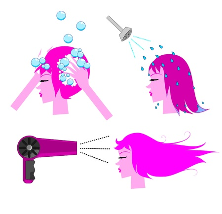 Hair Care Vector