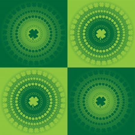 Clover Pattern Иллюстрация
