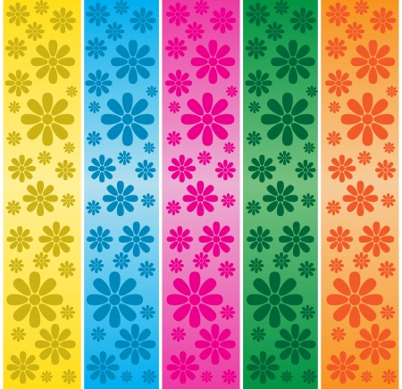 bright: Floral Banners