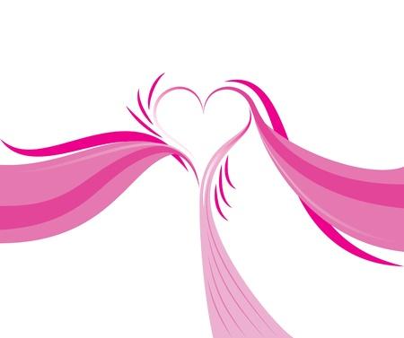 romance: Heart Abstract