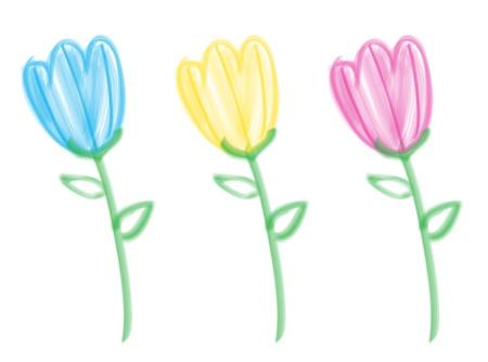 bristle: Bristle Brush Tulips
