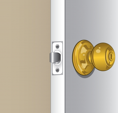 Door Knob Stock Vector - 18794341