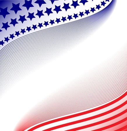 Patriotic Abstract