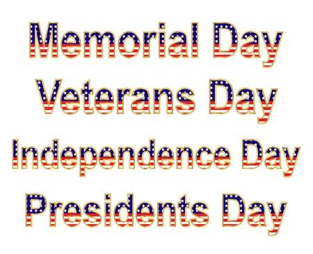 presidents day: Patriotic Holidays
