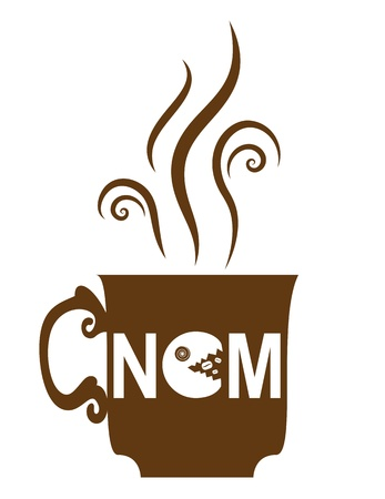 Coffee NOM Ilustração