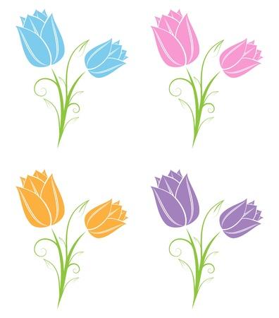 Tulipes  Banque d'images - 20238307