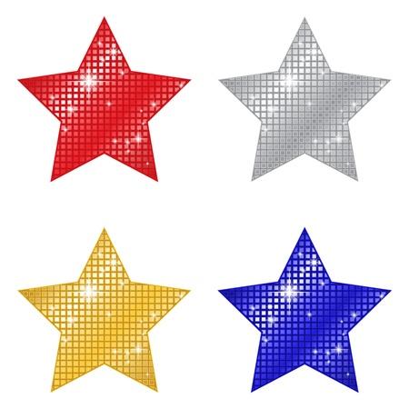 glittery: Glittering Stars