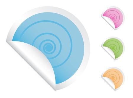 Swirl Stickers