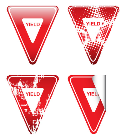 yield: Decorative Yield Signs