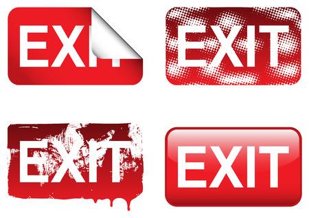 Decorative Exit Signs