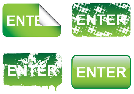 Decoratieve Enter Signs