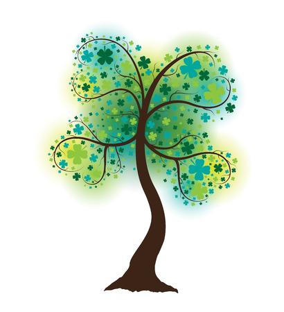 Clover Shaped Tree