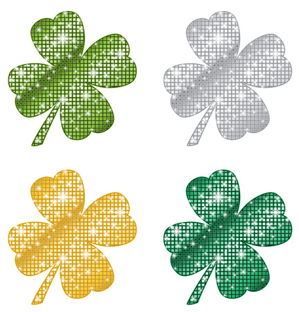 clovers: Glittering Clovers