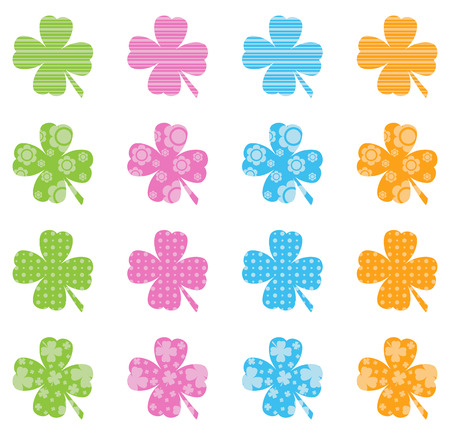 filled: Pattern Filled Clovers