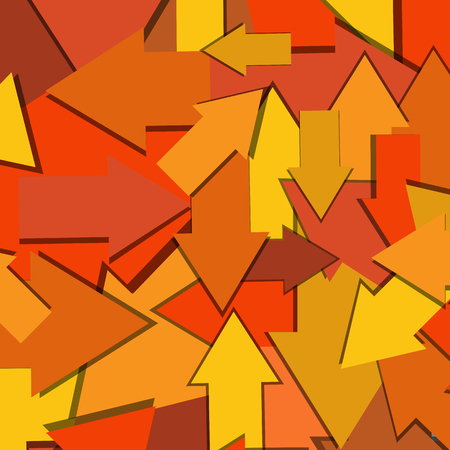 Multi-Directional Arrows Abstract Background Ilustrace