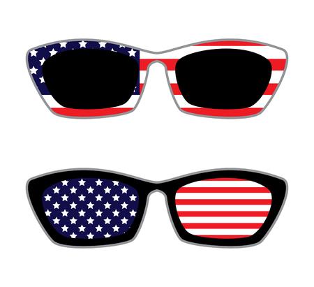 Patriotic Set of Sunglasses