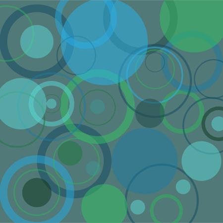 Ripple Rings Background Ilustração
