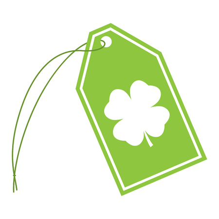Clover String Tag