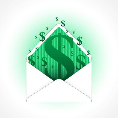 Envelope of Dollars