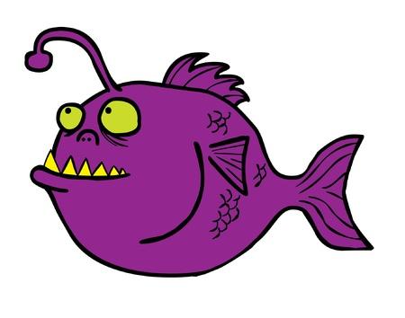 loch: Represent a deep water predator  angler fish  waiting for its preys