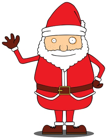 Hello Santa Claus Stock Vector - 15669022