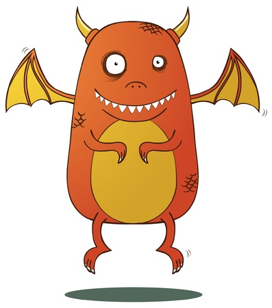 Little Dragon Stock Vector - 15669008
